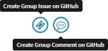 Create Group Issue on GitHub and Create Group Comment on GitHub actions